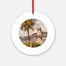 St. Augustine Fort Castillo de san Marcos Ornament