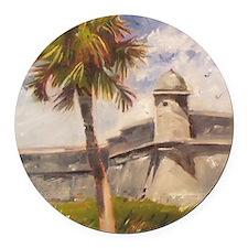 St. Augustine Fort Castillo de san Marcos Round Ca