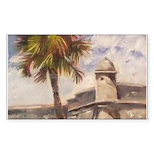 St. Augustine Fort Castillo de san Marcos Decal