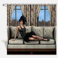 Roaring Twenties Shower Curtain