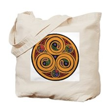 celtic Triskel Tote Bag