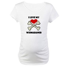 I Love My Weimaraner Shirt