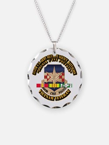 313th USA SAB w SVC Ribbon Necklace