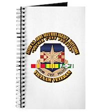 313th USA SAB w SVC Ribbon Journal