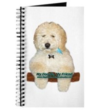 Funny Labradoodle puppies Journal