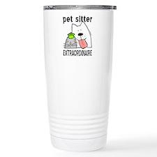 Cute Pet sitters Travel Mug