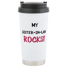 Cute Sister in law Travel Mug