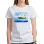 Labrador Fishing Dog Women's T-Shirt