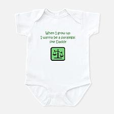 I Wanna Be A Paralegal Infant Bodysuit