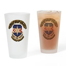 313th USA SAB Drinking Glass