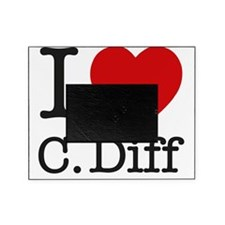 I Love C. Diff Picture Frame