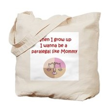 I Wanna Be A Paralegal Tote Bag
