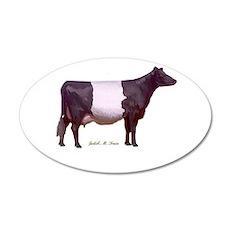 Dutch Belt Dairy Cow Wall Decal