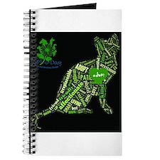 Cat Wordart Journal