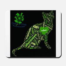 Cat Wordart Mousepad