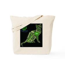Cat Wordart Tote Bag
