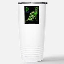 Cat Wordart Travel Mug