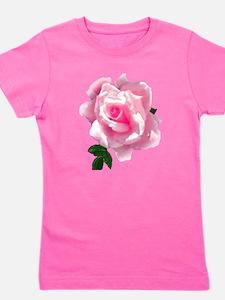 pink rose Girl's Tee