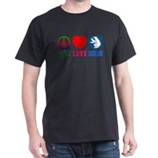 Peace Love Greenland T-Shirt