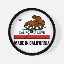 Made in California Wall Clock