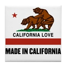 Made in California Tile Coaster