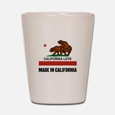 Made in California Shot Glass