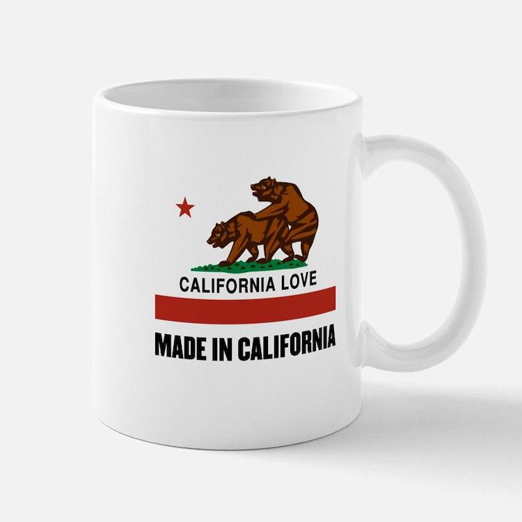 Made in California Mugs