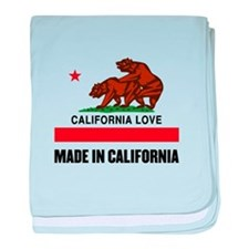 Made in California baby blanket