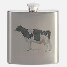 Holstein Cow Flask