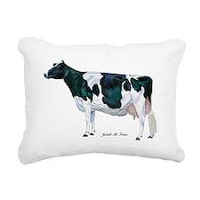 Holstein Cow Rectangular Canvas Pillow