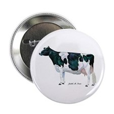 "Holstein Cow 2.25"" Button (100 pack)"