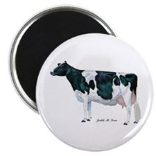 "Holstein Cow 2.25"" Magnet (10 pack)"