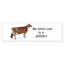 Holstein Cow Bumper Sticker