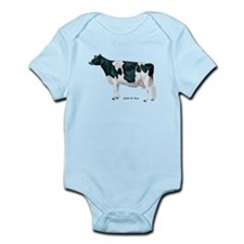 Holstein Cow Infant Bodysuit