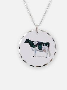Holstein Cow Necklace