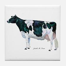 Holstein Cow Tile Coaster