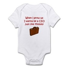 I Wanna Be A CEO Onesie