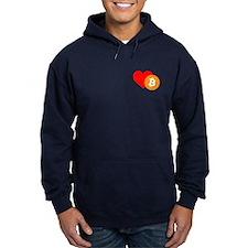 Bitcoin Love Hoodie