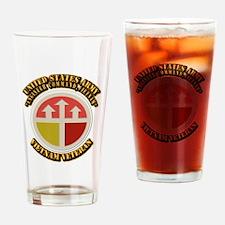 DUI - USA Engineer Command,Vietnam Drinking Glass