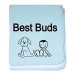 Best Buds baby blanket