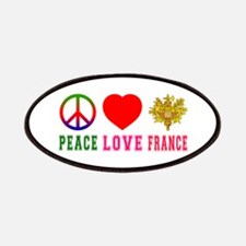 Peace Love France Patches