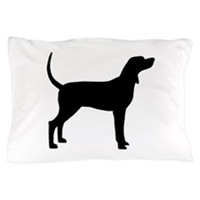 Coonhound Dog (#2) Pillow Case