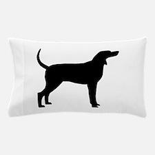 Coonhound Dog (#2) Pillow Case