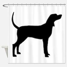 Coonhound Dog (#2) Shower Curtain