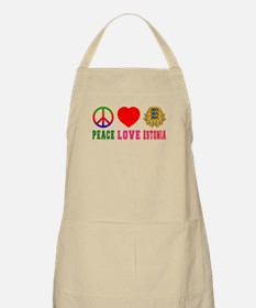 Peace Love Estonia Apron