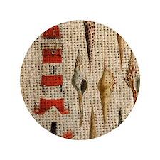 "lighthouse vintage seashells beach dec 3.5"" Button"