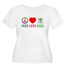 Peace Love Equatorial Guinea T-Shirt