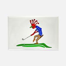 Kokopelli Golfer Magnets