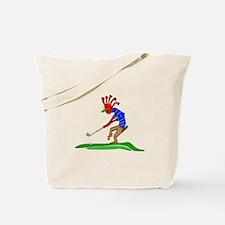 Kokopelli Golfer Tote Bag