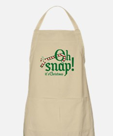 Oh Snap! It's Christmas. Apron